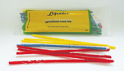 Legendex Pipe Cleaners Soft Colourful 180 MM x 50's/bag x 10 bag's bundle 03-04-008
