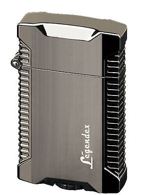 Legendex Picnicker Twin Torch Lighter Gunmetal satin 06-50-602