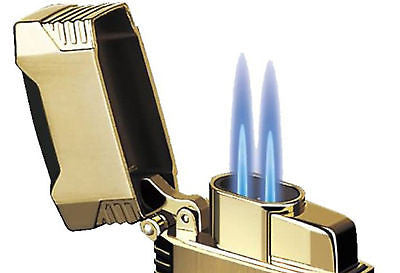Sikaro Mechformers Twin Torch Lighter 06-05-201 Shiny White Nickel