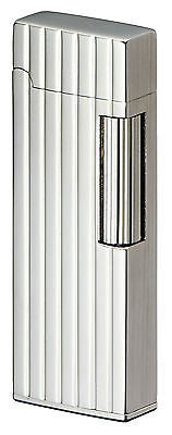 Sarome SD9-30 Flint Lighter Silver diamond cut / Side satin