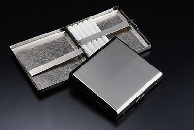 Sarome Metal Cigarette Case EXCC3-01 KS20 Silver