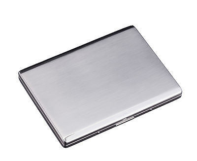 Sarome Metal Cigarette Case EXCC5-01 SKS10 Silver