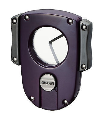 Sarome Metal Cigar Cutter EXCT2-04 Purple