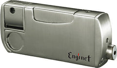 Enginet Paradise Combination of Pipe Built-In Lighter 06-40-104 Super Silver Satin