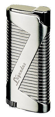 Legendex Pioneer Torch Lighter 06-50-501 Silver satin