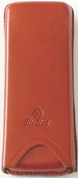 BigBen genuine leather cigar case 2 robusto saddle 651.108.200
