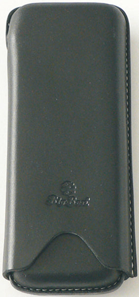 BigBen genuine leather cigar case 2 robusto black 651.108.210