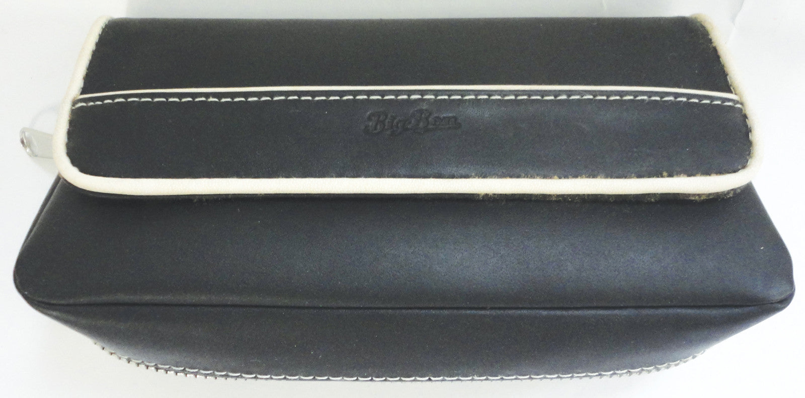 BigBen genuine leather pouch for 2 pipes & tobacco combination 743.221.221