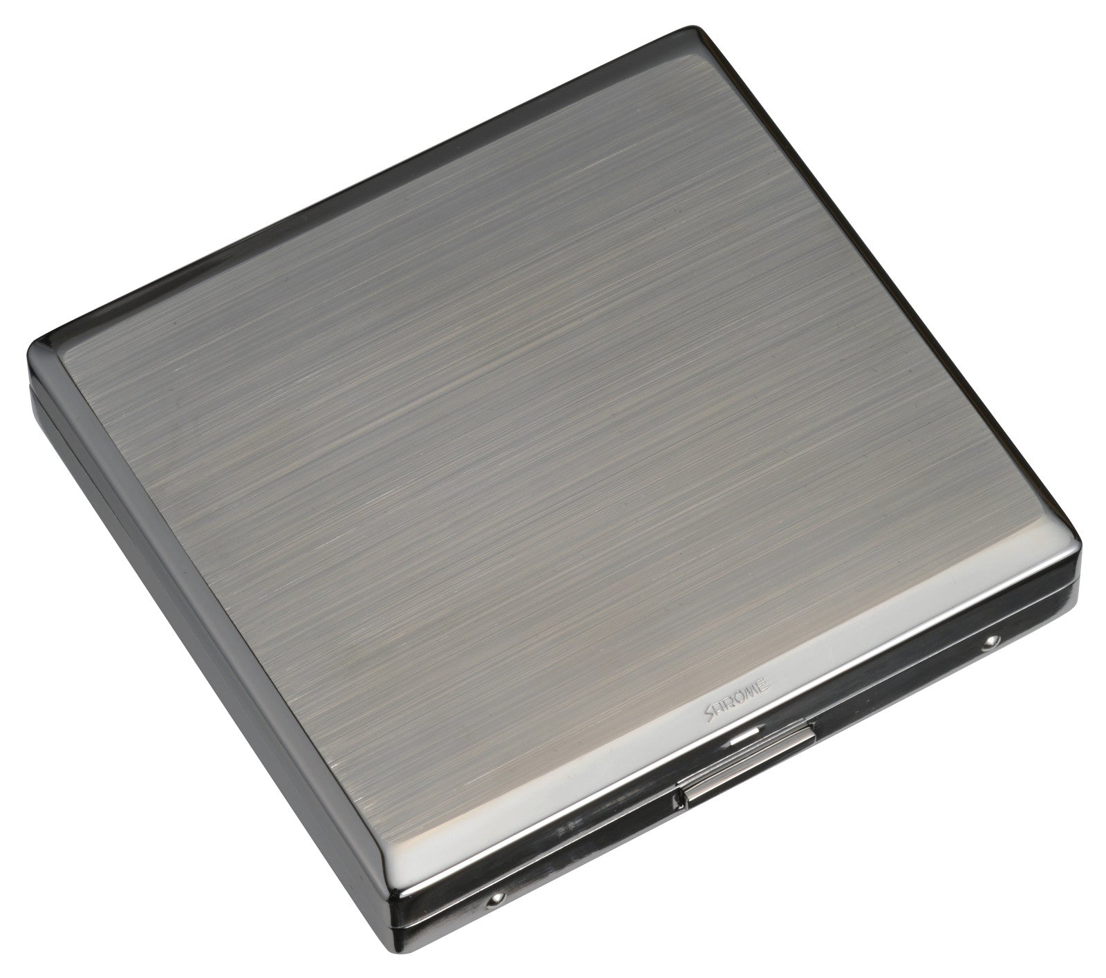 Sarome Metal Cigarette Case EXCC3-05 KS20 / Grey nickel satin (Light gun metal)