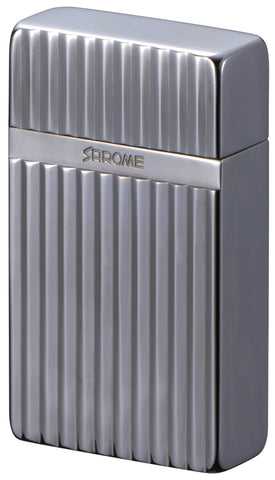 Sarome Mini Triple Torch  Cigar Cigarette Lighter BM15B-02 Light gray /Diamond cut