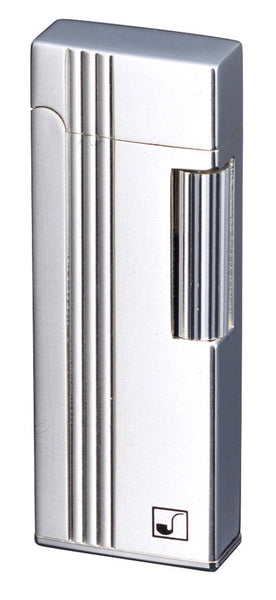 Sarome Flint Lighter for Pipe PSD9-11 Silver Diamond Cut