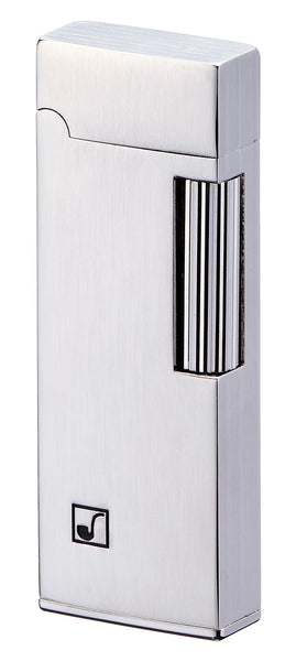 Sarome Flint Lighter for Pipe PSD9-14 Silver satin / Vertical line