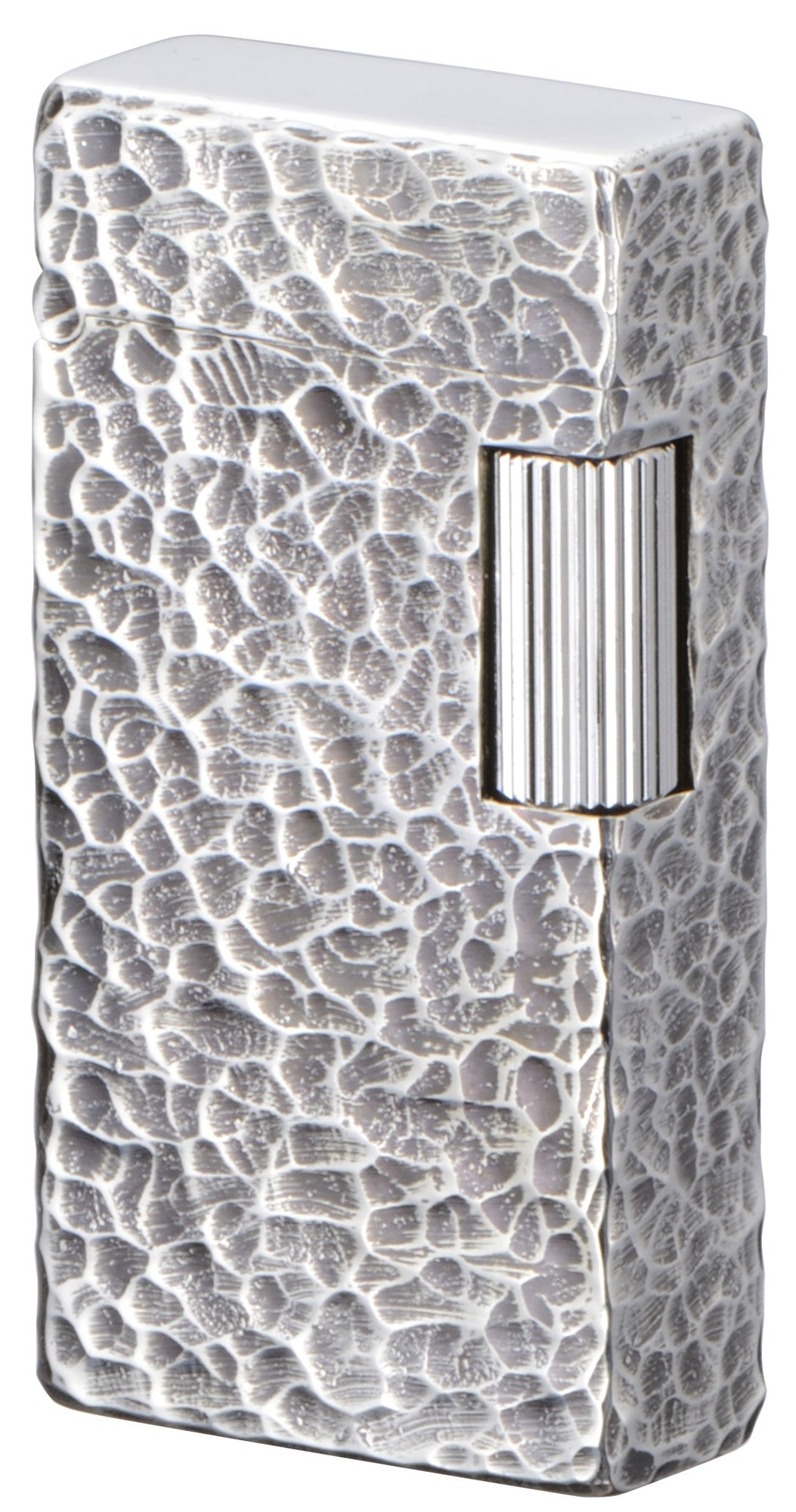 Sarome Flint Cigarette Lighter Antique Silver / 4-side hummer tone SD1-57