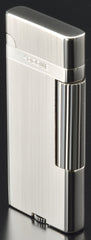 Sarome Flint Cigarette Lighter SD43-01 Silver hairline