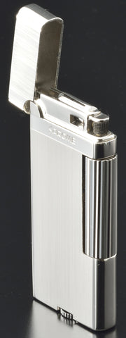 Sarome Flint Cigarette Lighter SD43-03 Silver barrel finish