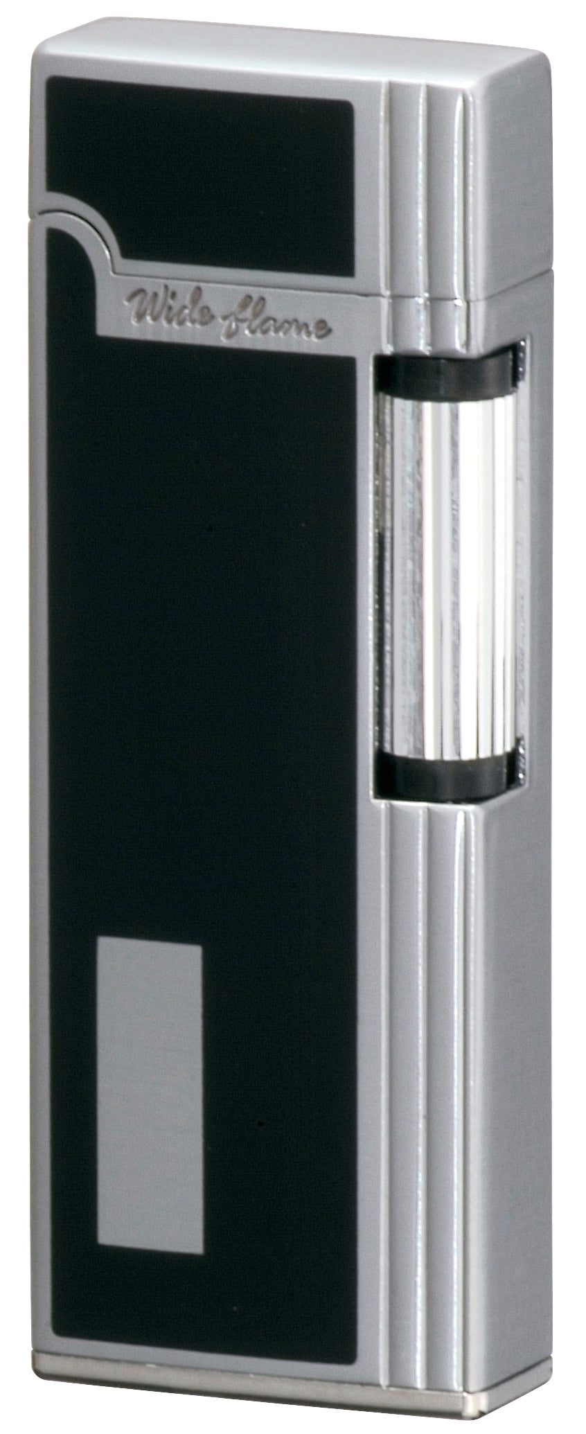 Sarome SD9W-03 Flint Lighter Chrome Satin/Black
