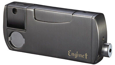 Enginet Paradise Combination of Pipe Built-In Lighter 06-40-103 Gunmetal