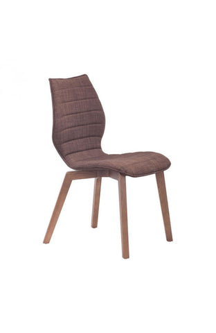 Zuo Mod Aalborg Dining Chair Tobacco
