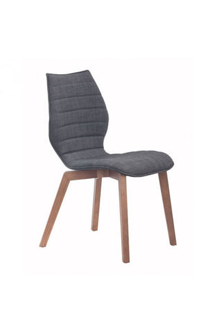 Zuo Mod Aalborg Dining Chair Graphite