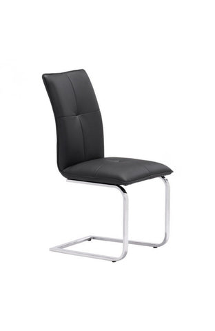 Zuo Mod Anjou Dining Chair Black