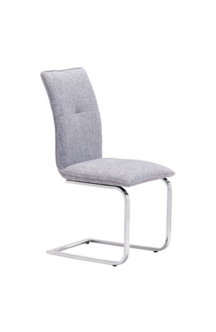 Zuo Mod Anjou Dining Chair Gray