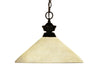 Z-Lite Chance/Bourbon 100701BRZ-AGM14 Pendant Light