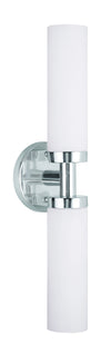 Livex Lighting Aero Brushed Nickel Bath Light 10104-91
