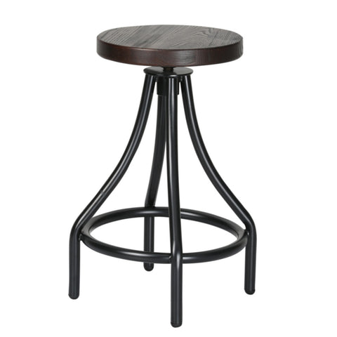 Fine Mod Imports Alta Counter Stool, Walnut - Sky Home Decor