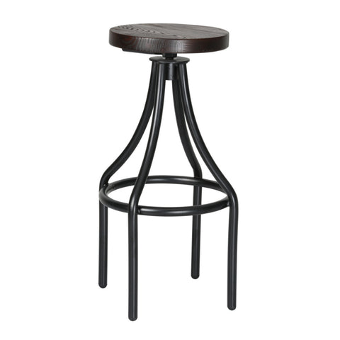 Fine Mod Imports Alta Bar Stool, Walnut - Sky Home Decor