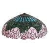 "Meyda 22""W Cabbage Rose Shade"
