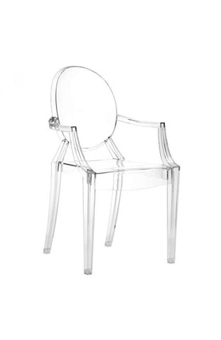 Zuo Mod Anime Dining Chair Transparent