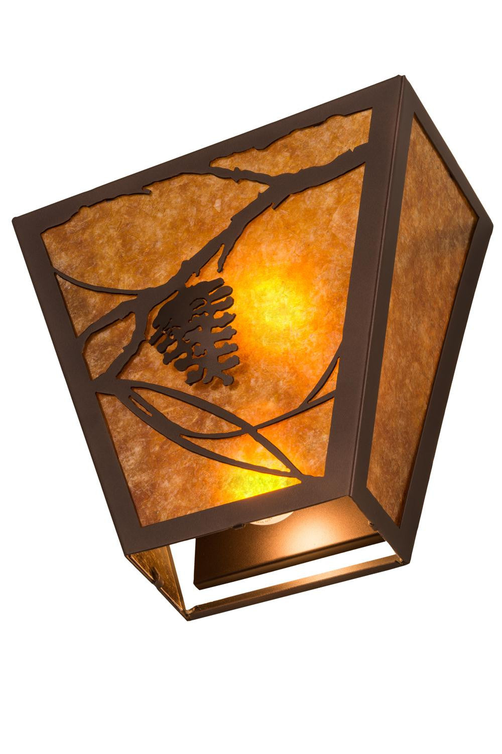 Meyda 13 W Whispering Pines Wall Sconce Sky Home Decor
