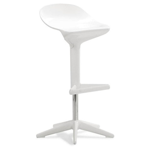 Fine Mod Imports Different Bar Stool Chair, White - Sky Home Decor