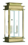 Livex Lighting Princeton Antique Brass Wall Lantern 2018-01