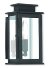 Livex Lighting Princeton Black Wall Lantern 20191-04
