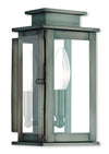 Livex Lighting Princeton Vintage Pewter Wall Lantern 20191-29