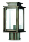 Livex Lighting Princeton Vintage Pewter Post Lantern 20201-29