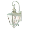 Livex Lighting Cambridge Brushed Nickel Outdoor Wall Lantern 2031-91