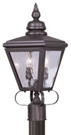 Livex Lighting Cambridge Bronze Outdoor Post Lantern 2032-07