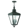 Livex Lighting Cambridge Black Outdoor Chain-Hang Lantern 2035-04