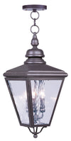 Livex Lighting Cambridge Bronze Outdoor Chain Lantern  2035-07