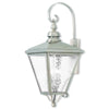 Livex Lighting Cambridge Brushed Nickel Outdoor Wall Lantern 2036-91