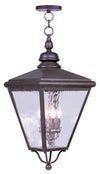 Livex Lighting Cambridge Bronze Outdoor Chain Lantern  2037-07