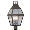 Livex Lighting Augusta Bronze Outdoor Post Lantern 2083-07