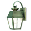 Livex Lighting Mansfield Vintage Pewter Outdoor Wall Lantern 2162-29