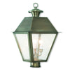 Livex Lighting Mansfield Vintage Pewter Post-Top Lanterm 2169-29