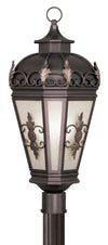 Livex Lighting Berkshire Bronze Outdoor Post Lantern 2197-07