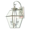 Livex Lighting Westover Brushed Nickel Outdoor Wall Lantern 2281-91