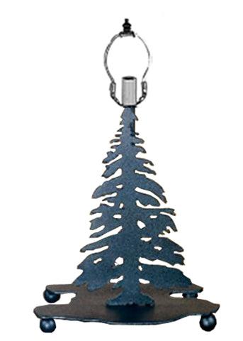 "Meyda 10"" Mini Tree Base Black"