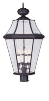 Livex Lighting Georgetown Bronze Outdoor Post Lantern 2368-07